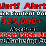 325K Expert IM Content Words with PLR review