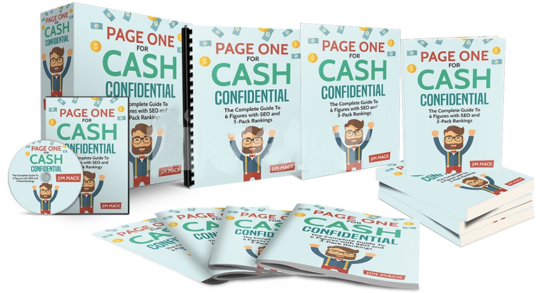 Page One For Cash Confidential Review