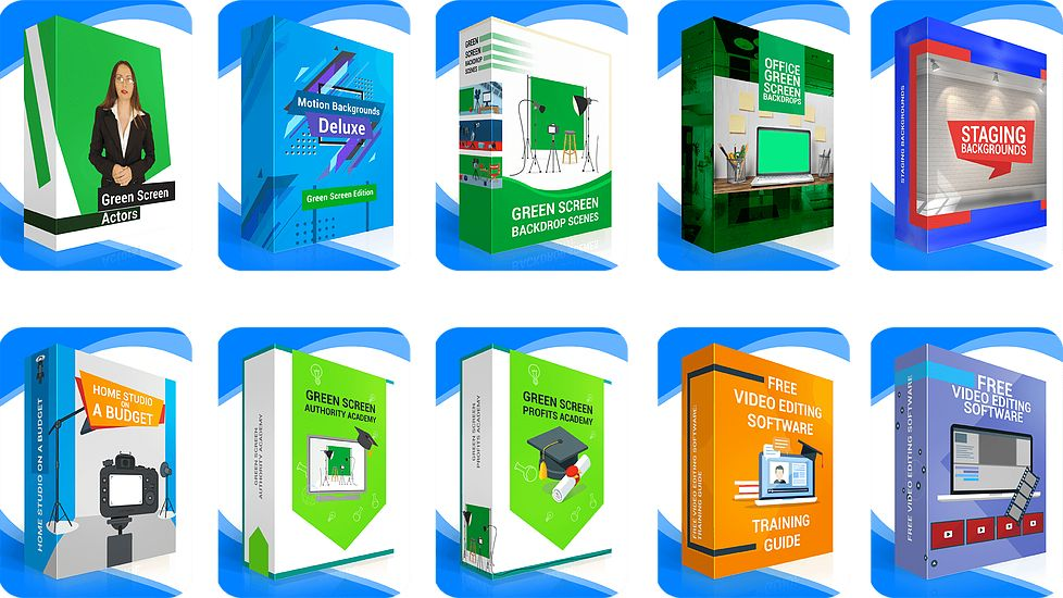 The Green Screen Club Review - 10 In 1 Discounted Green