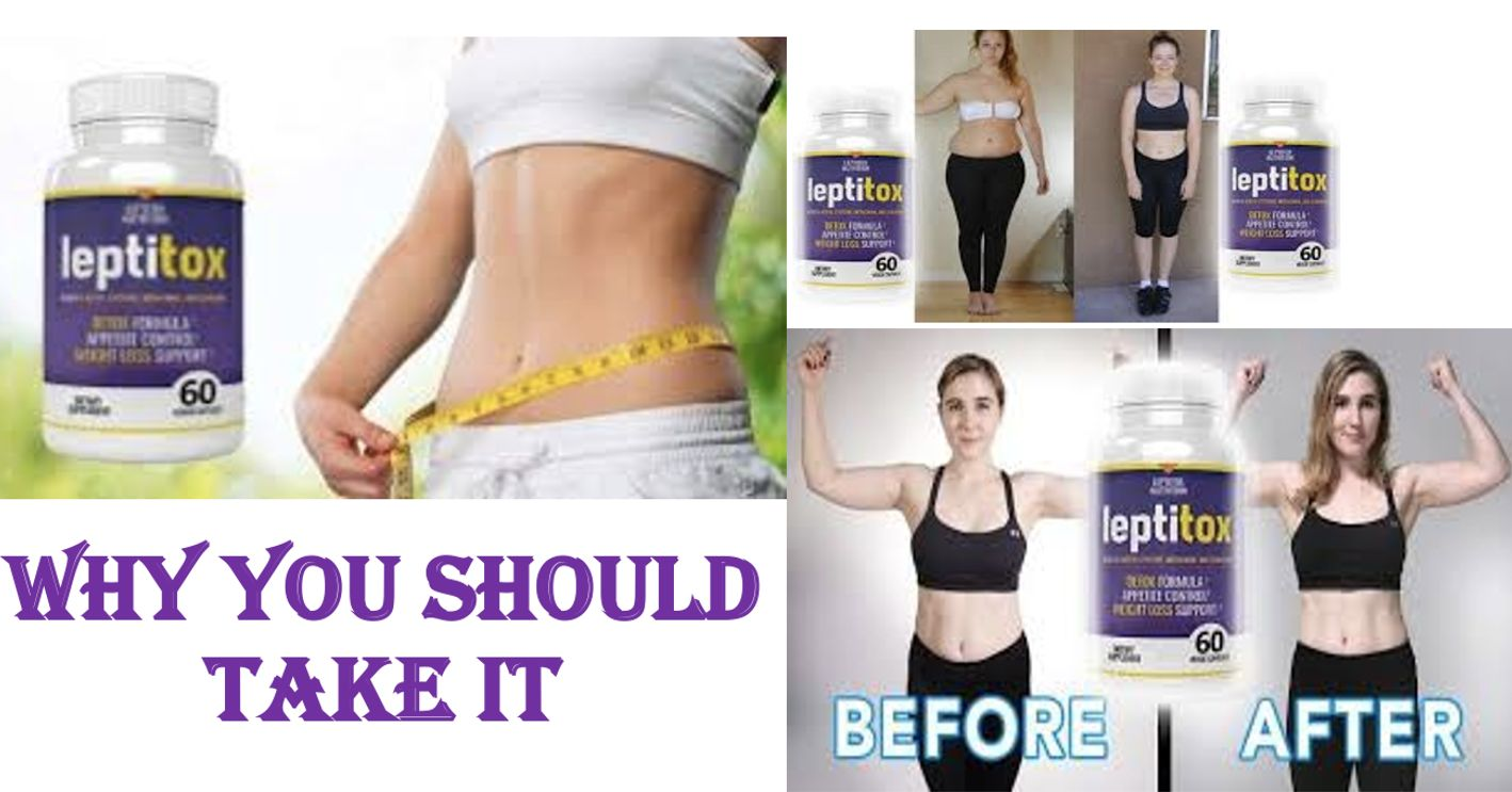 Weight Loss  Leptitox Box Pics