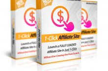 1-Click Affiliate Site Review – Launch Your Own 3-in-1 Affiliate Site in 60 seconds