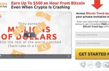 Bitcoin Trend App Review – Scam Or Legit?