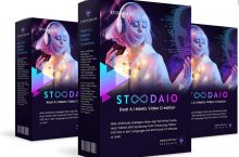 Stoodaio Review – Artificially Intelligent Web-App Will Write, Create, Host, Publish AND Syndicate Profit-Producing Videos FOR YOU