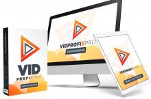 VidProfixPro Review – Turns ANY CONTENT or Site into a VIDEO That Drives FREE UNSTOPPABLE TRAFFIC to Your Site Automatically, Without Any Manual Work.
