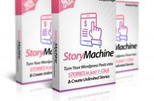 WP Story Machine Review – NEW WordPress Plugin Turns Blog Posts into STORIES